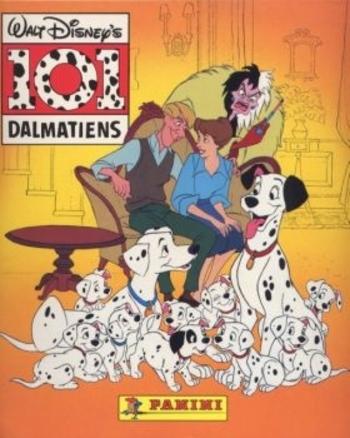 Les 101 Dalmatiens Dessin Anime 1995 Mes Collections Panini