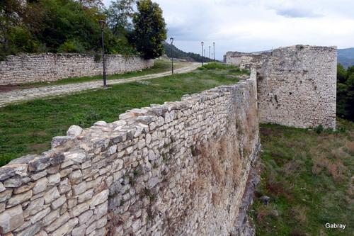 Berat: la citadelle  (Albanie)