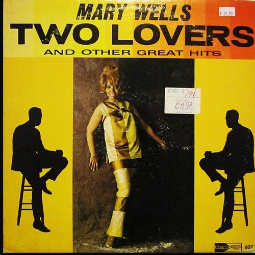 "Mary Wells : Album "" Two Lovers "" Motown Records MT 607 [ US ]"