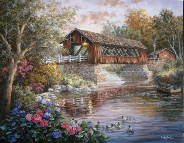 Peinture de : Nicky Boehme
