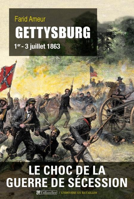 couverture du livre : Gettysburg