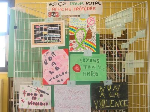 Expo au Collège Balzac