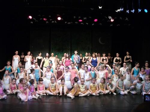 Le spectacle de fin d'année de l'école Berestoff réussi