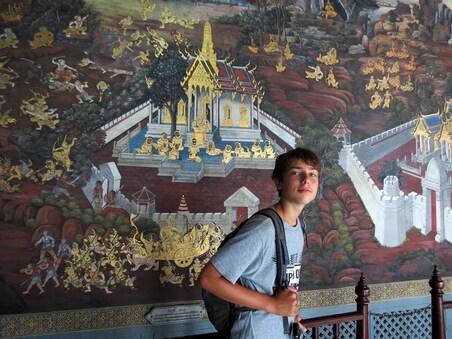 12 Juillet 2013 - Bangkok, Wat Phraeo & co