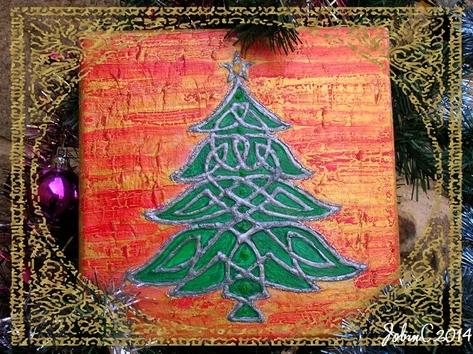Arbre de Yule (sapin de Noël ............)
