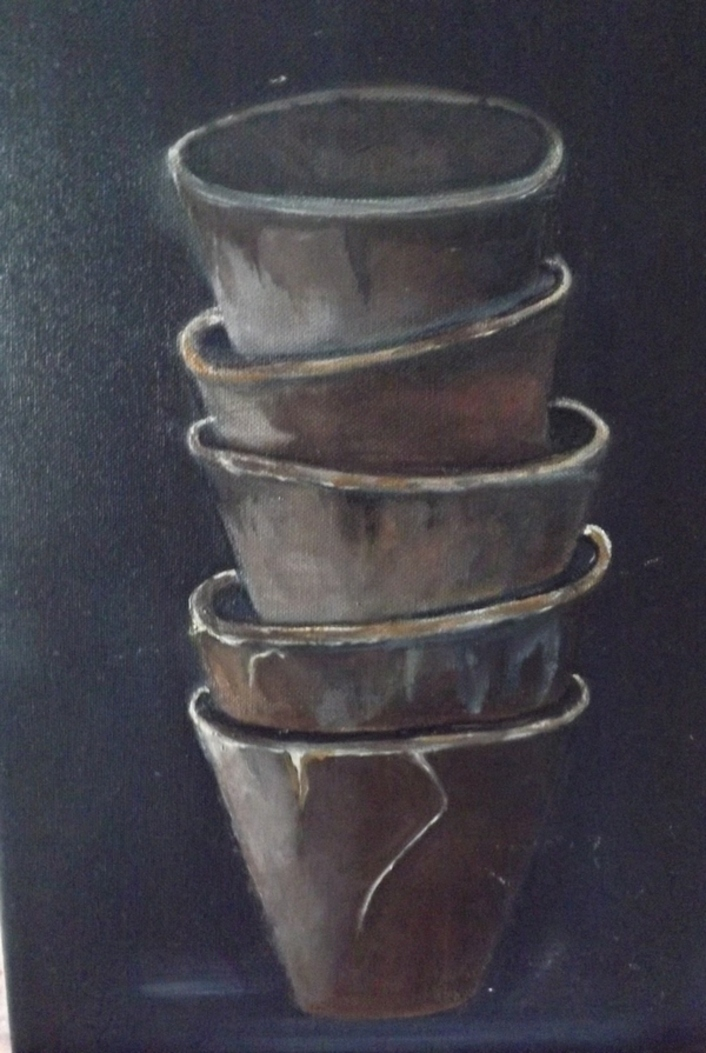 Peintures: Pots de .....