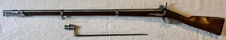 Un magnifique fusil d'Infanterie Modèle 1822 T Bis