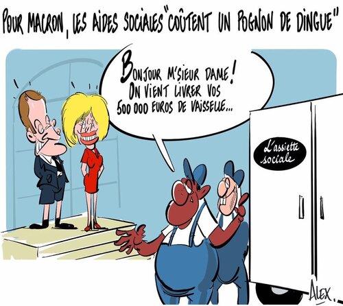 La semaine folle de Macron