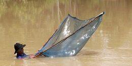 Pêche dans un klong