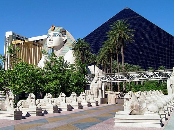 Las Vegas Luxor jour