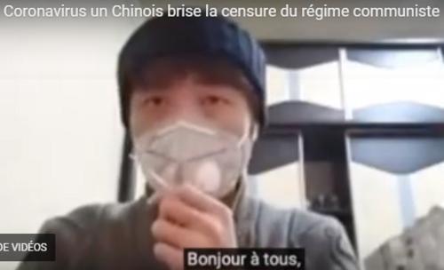 CORONAVIRUS - Un chinois brise la censure du régime communiste