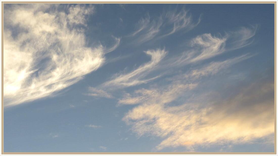 Ciel d'août en pays audois