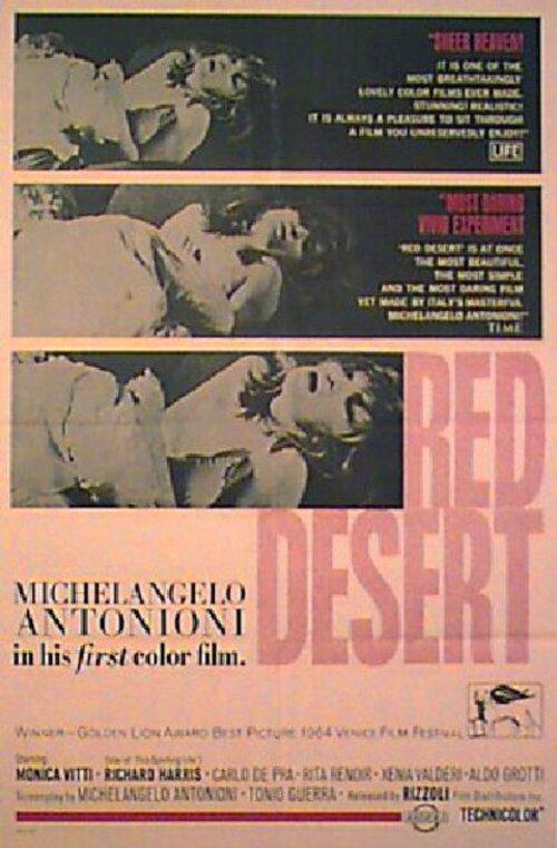 RED DESERT BOX OFFICE USA 1965
