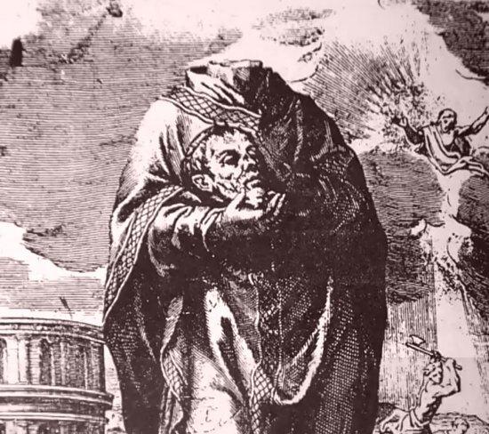 Le martyre de saint Aphrodise en l'an 65