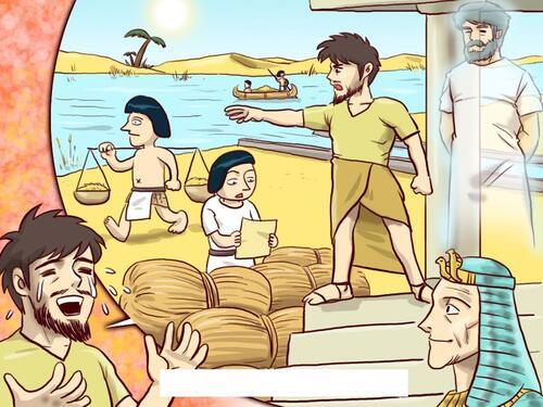 La vie de Moïse (visuels)