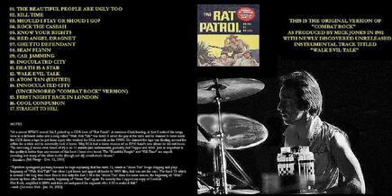 La Saga du Clash: Combat Rock et Rat Patrol (partie 1)