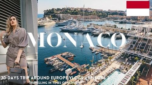 MONACO WALK 4K. Promenade inoubliable (Voyages)