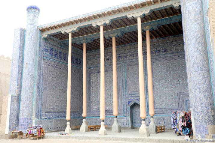 Kunya Ark : la mosquée d'été, Khiva