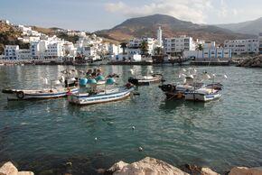 Le port et le village