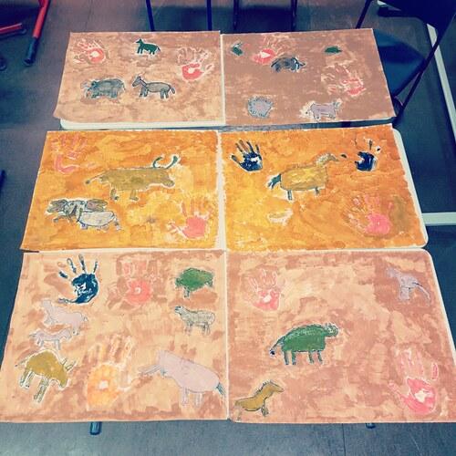 Les fresques préhistoriques
