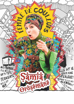 Samia Orosemane, humoriste voilée