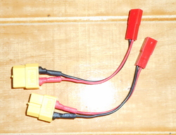 les rallonges , connecteurs , Tdean , XT60 & autres