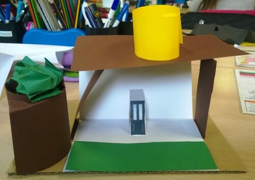 Les architectes (2)... aucun point de colle !