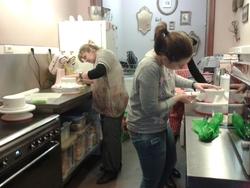 Atelier d'initiation à la pâte à sucre avec Bri's Cakes chez Milypat à Tournai