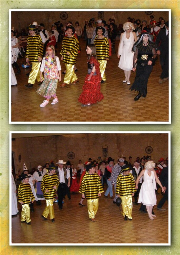 Les Appalaches souvenirs des bals costumés - Segonzac 2008