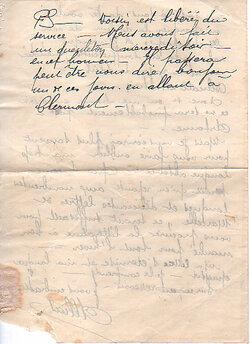 Elie Allias - Lettres