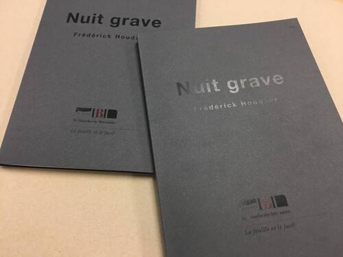 """La couverture de """"Nuit grave"""" grave belle !"""