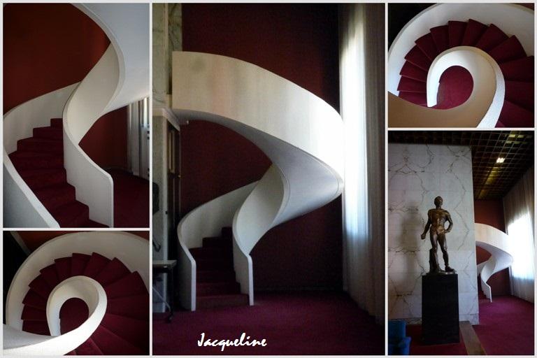 Les escaliers du Duce...
