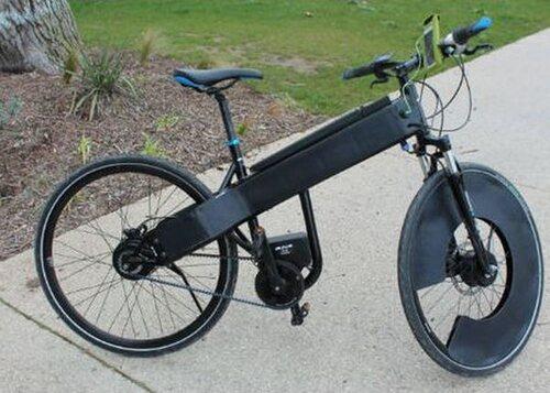 SUN-E, vélo électrique solaire