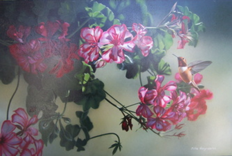 Julia Hargraves (Fleurs et Oiseaux)