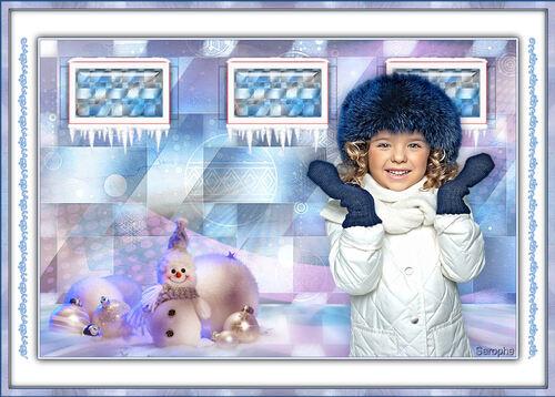 *** Noel bleu ***