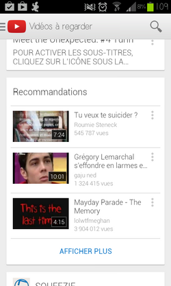 Youtube m'aime