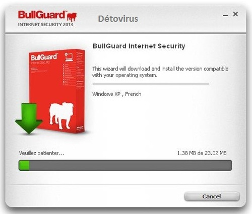 BullGuard Internet Security 2013 - Licence 180 jours gratuits