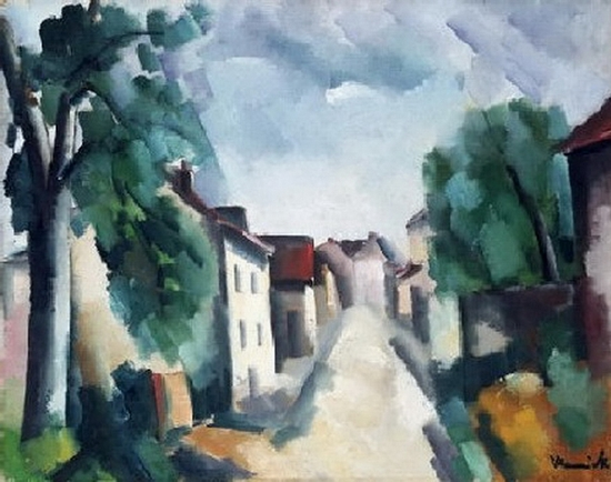 Maurice De Vlaminck, Rue de village