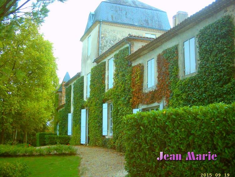 le Château Malagar situé a Verdelais (Gironde) domaine familial de François Mauriac