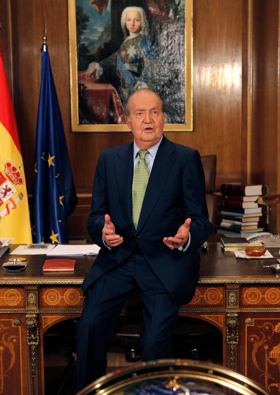 Voeux du roi d'Espagne