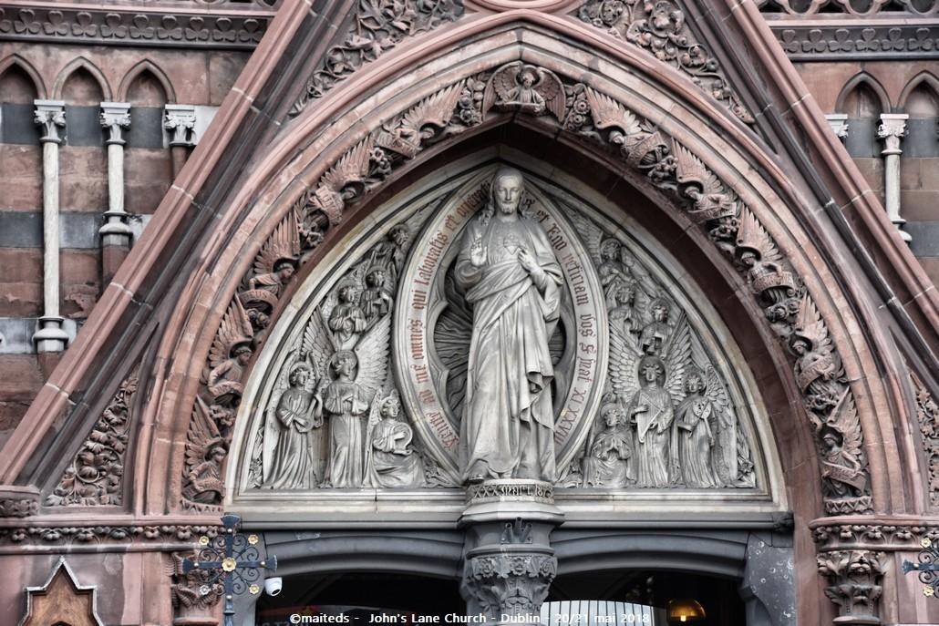 Dublin - Irlande (12) Église de John's Lane