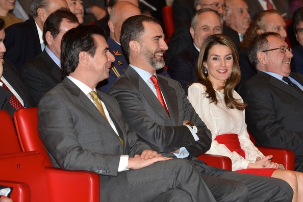 Les princes des Asturies et les ambassadeurs
