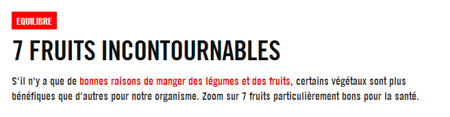 7 fruits incontournables