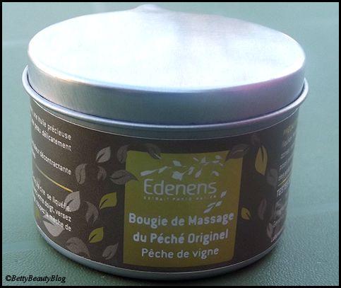 Edenens le massage à la bougie .... (code promo)
