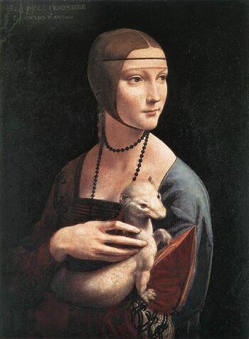 Tableau du samedi : La Dame à l'hermine