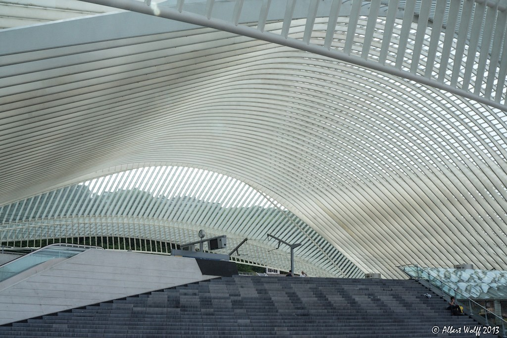 Liège Guillemins : on  prend le train