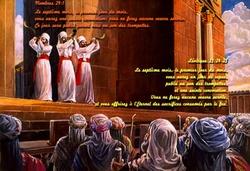La fête des trompettes (Chofars) - Yom Terouah