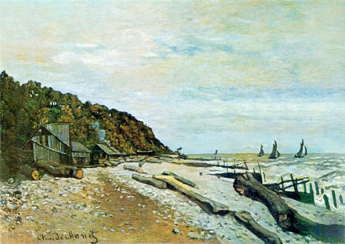 Monet (2) / 1863 ,Salon de Paris , la grogne !