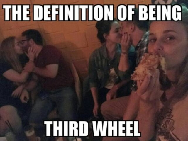 being a third wheel is never easy 640 28 Dont be Forever Alone on a Friday! (30 Photos)