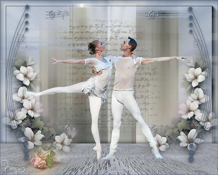 """*** Sujet """"Danseurs"""" défi journalier du 27/11 ***"""